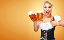 Woman-With-Beer